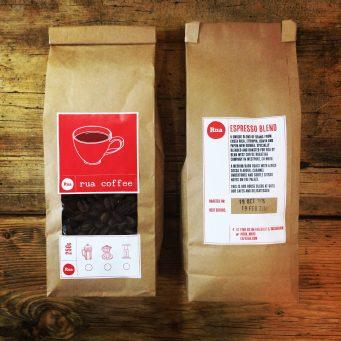 Rua coffee espresso blend