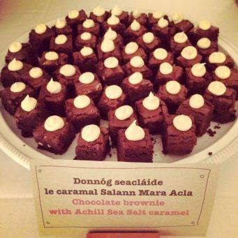 Achill Island Sea Salt - cookery demo